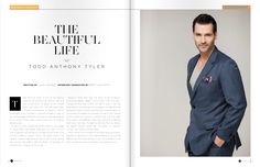 Todd Anthony Tyler interview InFluential magazine pg 1n2