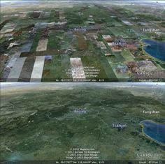 Amazing imagery update to Google Earth -- no more random patches of imagery when viewed from high altitude!