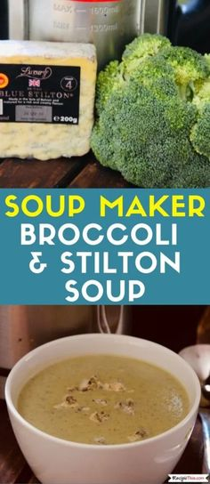 Recipes Broccoli Soup maker Broccoli And Stilton Soup Recipe. Creamy broccoli and stilton soup cooked in the soup maker. Perfect for leftover stilton or any other blue cheeses. Freezer friendly and full of flavour. Broccoli And Stilton Soup, Broccoli Soup Recipes, Vegetable Recipes, Fall Recipes, Real Food Recipes, Healthy Recipes, Chili Recipes, Delicious Recipes, Keto Recipes