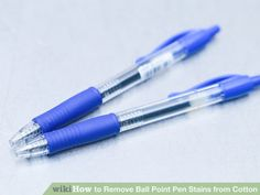 Image titled Remove Ball Point Pen Stains from Cotton Step 1
