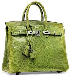 9f5af0bf7c A shiny vert anis lizard birkin 25 with ruthénium hardware