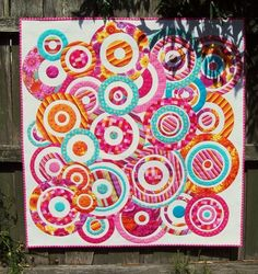 Love circles on quilts