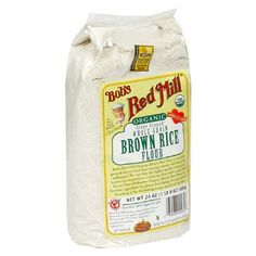 Bob`s Red Mill Organic Brown Rice Flour, 24-Ounce Packages (Pack of 4)