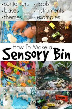 How to Make a Sensory Bin for Sensory Play and Exploration