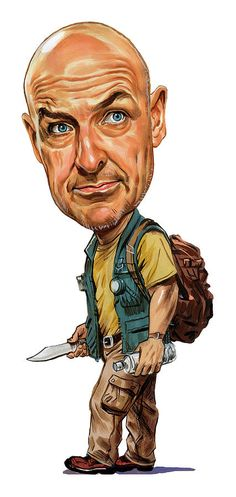 Terry Oquinn As John Locke Painting
