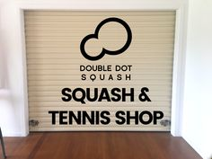 We are opening our NEW SHOP and office at the Browns Bay Racquets Club from tomorrow! Come visit us during our opening week to see what's inside. We have a wide range of squash and tennis products available from brands including: ASICS, Dunlop, Salming, Wilson, Eye, Karakal, VICTOR, Tecnifibre, HEAD, Prince and Compressport Racket! - 4 Woodlands Crescent, Browns Bay, Auckland, 0630 - Or check out our online shop at: www.doubledotsquash.com/shop Squash Gear, Tennis Shop, Double Dot, New Shop, Rackets, Auckland, Asics, Prince, Dots