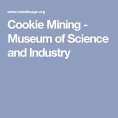 Cookie Mining - Museum of Science and Industry