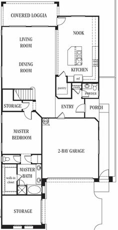 Annabell Floor Plan In Boulder Ranch 2 Story 3 Bedrooms 2 5 Baths 2 Bay Garage Lasvegas