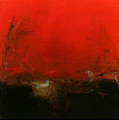 Artist Tom Lieber  Red, 2010 | Oil on Canvas | 72 x 72 Inches