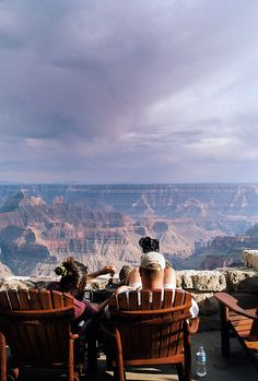 North Rim at the Grand Canyon - what an amazing place.  Love it here! I sat right there on that patio outside the lodge and watched and listened to a storm roll in. Absolutely fantastic!!