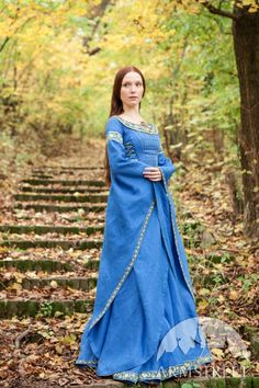 Medieval Flax Linen Dress by ArmStreet