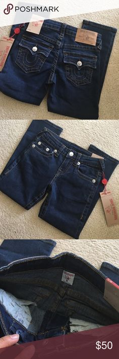 NWT Girls Skinny Slim Fit Jeans Brand new with tags! Size 5. True Religion Bottoms Jeans