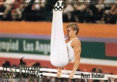 RARE 1996 UPPER DECK OLYMPICARD U.S. OLYMPIC MOMENTS PETER VIDMAR USA TEAM