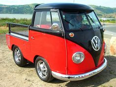 1960 VW truck.  Super cute!!