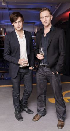Tom Hiddleston and Douglas Booth. Again, this is perfect