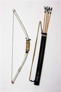 diy bow, arrows, and quiver