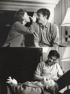 Romy Schneider & Alain Delon.  I just can't get enough.  #powercouple