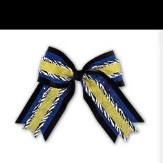 Cheer bows <3