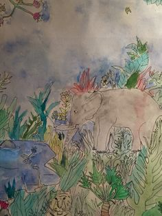 Jungle #Illustration