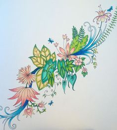 My First Peace From Magical Jungle Magicaljungle Johannabasford Adultcolouring