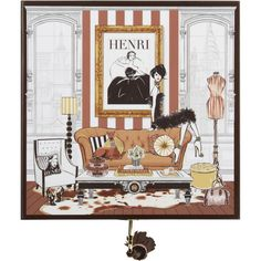 Megan Hess Henri Bendel Room Jewelry Box (€140) ❤ liked on Polyvore featuring home, home decor, jewelry storage, no color, henri bendel jewelry box, locking jewelry box and henri bendel