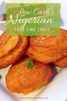 Kids Food Time Table(Nigeria/African) | Must try from the ...