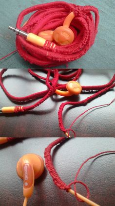 DIY :: Tangle-Free Headphones with Embroidery Floss ( http://www.apartmenttherapy.com/diy-tangle-free-headphones-wit-162321 )