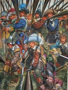 Pike block during The War of the Three Kingdoms