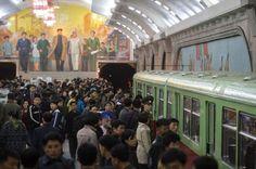 Kuzey Korenin çılgın liderinin gizemli metrosu görüntülendi