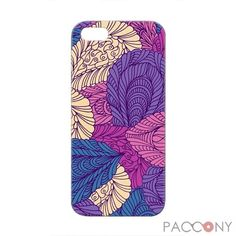 Colored Leaves Pattern Protective Hard Cases for iPhone 5