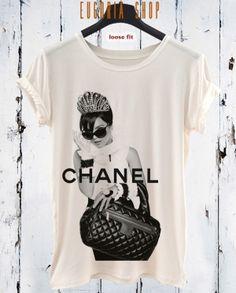 lady chanel fashion t-shirt, anishar t-shirt, eugoria t-shirt, fashion t-shirt