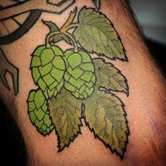 beer hops tattoo - Google Search
