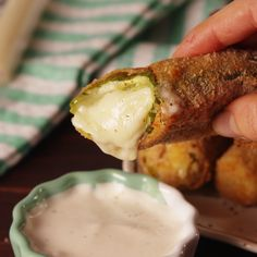 Pickle Mozzarella Sticks