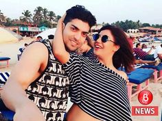Apparently, some fans of Gurmeet Choudhary asked him to striptease in public when he was vacationing with his wife Debina in Goa. Gurmeet Choudhary, Two Girls, Goa, Bollywood, Bubble, Couple Photos, Daughters, Adoption, Fans