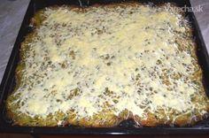 Môj cuketový koláč so syrom - Recept