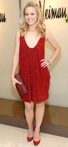 Kristen Bell sparkled in her red Emanuel Ungaro dress at the preview fashion show for the French fashion brand in Beverly Hills back in March.Wed, 01 August 2007