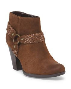 Suede Lacey Bootie
