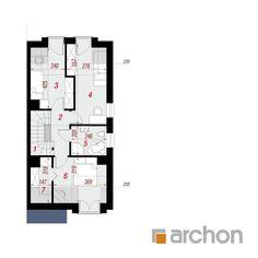 Projekt domu Dom pod miłorzębem 9 (BN) - ARCHON+ Floor Plans, House Floor Plans