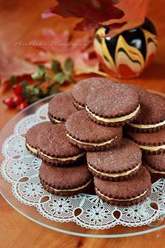 Kakaowe markizy z serkiem mascarpone