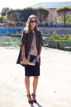 Paris Street Style: Spring 2015 Ready to Wear | Vanity Fair