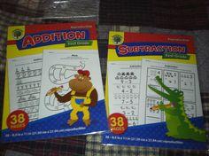 2 Pkgs Educational Math Reproducibles Add Subtraction 38 pgs Each 1st Grade | eBay