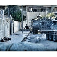 #Flashback to Tight streets and sharp corners which made Mosul some of the hardest fighting streets in Iraq.  It's about team work and violence of action. Most of if not all the insergents had never seen the stryker brigades in 2004 and didn't know how to deal with us.  The overwhelming combo of speed ( 75 mph  )  firepower armor run flats and ability to unload 11 troops per truck made for a beautiful combo. Proud to call myself one of the first. That DCU life.  #Everydaycarry #rifle #pistol…