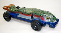 Fish Pinewood Derby Car