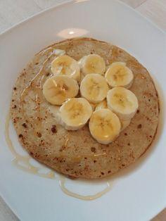Pan Cakes mit Banane und Honig...Yummy und fix gezaubert
