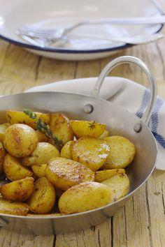 Cinco Quartos de Laranja: Batatas assadas com paprica e OREGÃOS