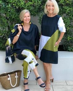 Over 60 Fashion, Mature Fashion, Over 50 Womens Fashion, Fashion Over 50, Plus Size Fashion, Boho Fashion, Fashion Dresses, Mode Outfits, Stylish Outfits