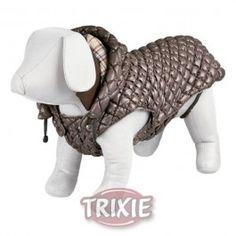 #perro #dog @trixie #mascotas #animales www.theanimallshop.com Abrigo Venezia, XS, 30 cm, Marrón