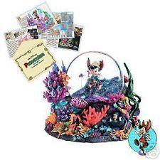 Pinocchio Under The Sea Disney Snowglobe LE 500 Pin Release