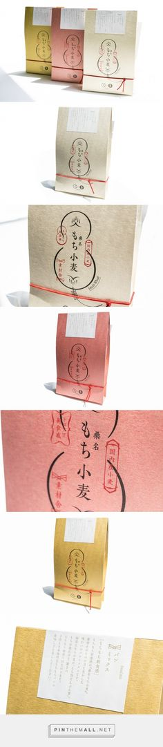 mochikomugi #Wheat #Packaging #Design by Sekilala (#Japan)…