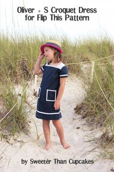 """Flip this Pattern"" with Oliver and S - Frances Suzanne Croquet Party, Little People, Flipping, Her Style, My Girl, Kicks, Girl Outfits, Style Inspiration, Sewing"
